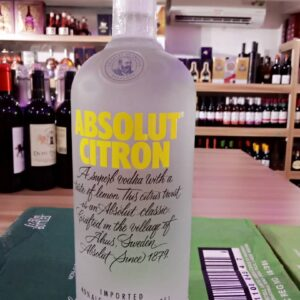Absolute Citron 1litre (Bottle)