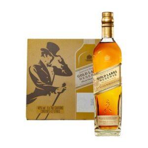 Gold Label whisky 1(Bottle)