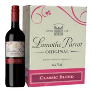Lamothe Parrot Sweet 75cl (6 Bottles)