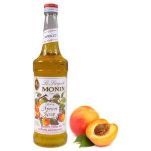 Monin Apricot Syrup 70cl (6 Bottles)