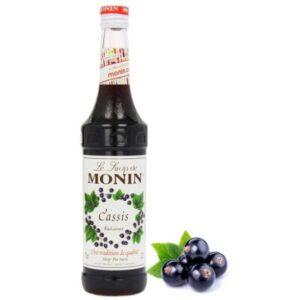 Monin Black Currant Syrup 70cl (6 Bottles)
