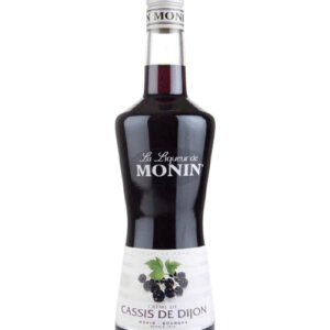 Monin Black Current Liqueur 70cl (6 Bottles)