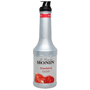 Monin Strawberry Puree 70cl (1Bottle)