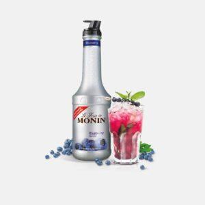 Monin Blueberry Puree 70cl (1 Bottle)