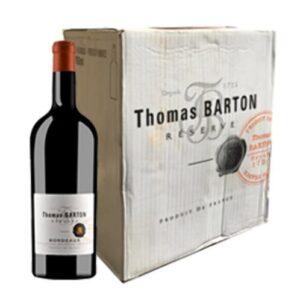 Thomas Barton Bordeaux  Red75cl (1 Bottle)