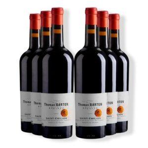 Thomas Barton St Emillion (6 Bottles)