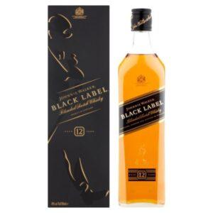 Johnnie Walker Black Label 70cl (12 Bottles)