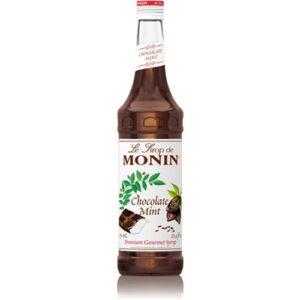 Monin Chocolate Mint Syrup 70cl (6 Bottles)
